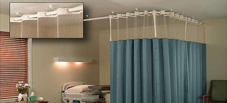 Packman Offers You The Economical Range Of Hospital Curtains Which Are  Manufactured With 100 % Polyester Yarn And Have Anti Fungal And Flame  Retardant ...